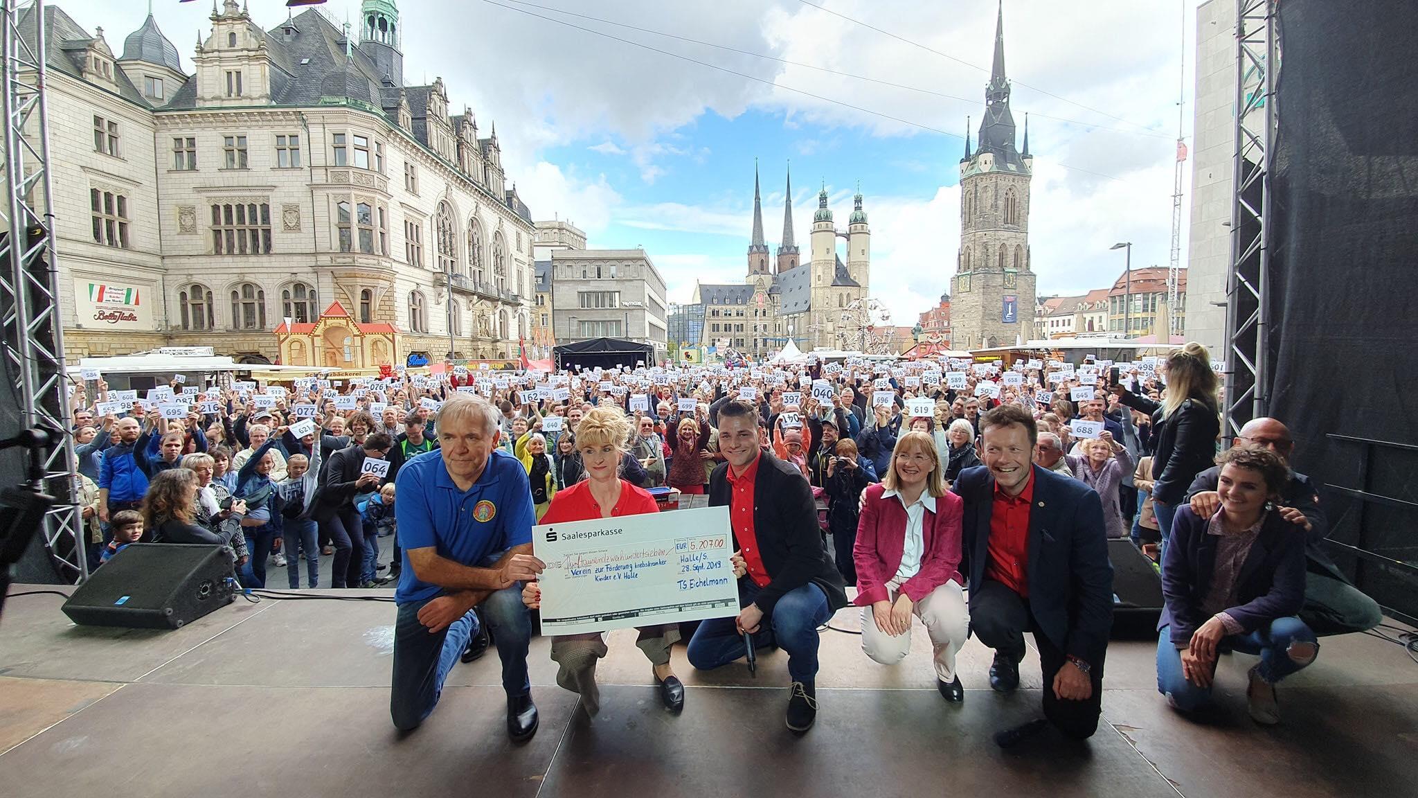 Salzfest-Spendencheck